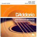Cuerdas para Guitarra Acústica 010