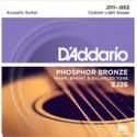 Cuerdas para Guitarra Acústica 011