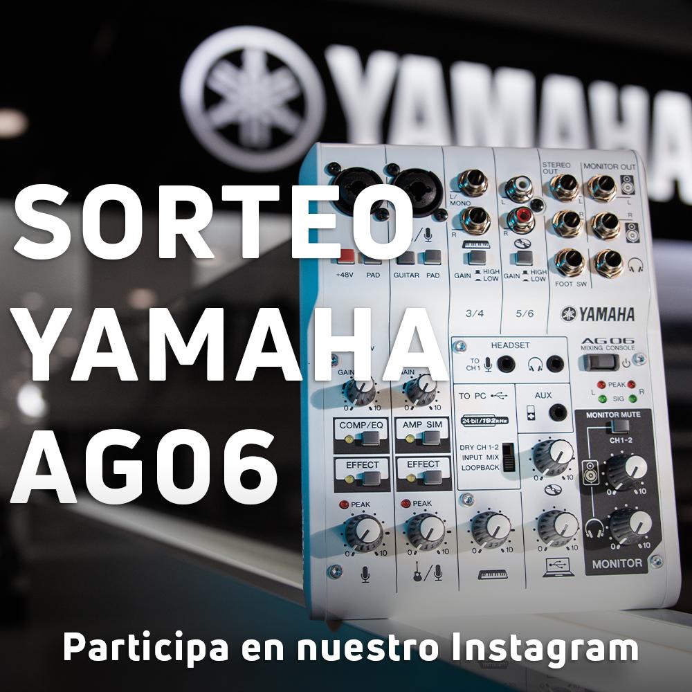 Sorteo interfaz Yamaha AG06