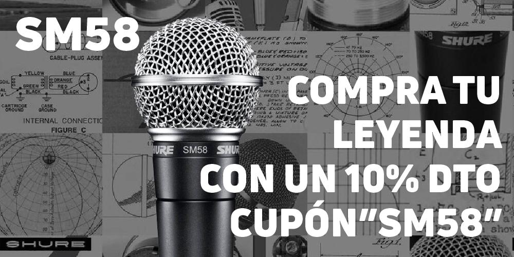 Compra tu Leyenda con un 10% Dto - Cupón SM58