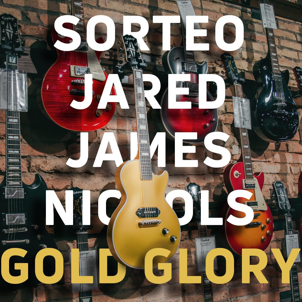 Sorteo de una Epiphone Jared James Nichols Signature Gold Glory