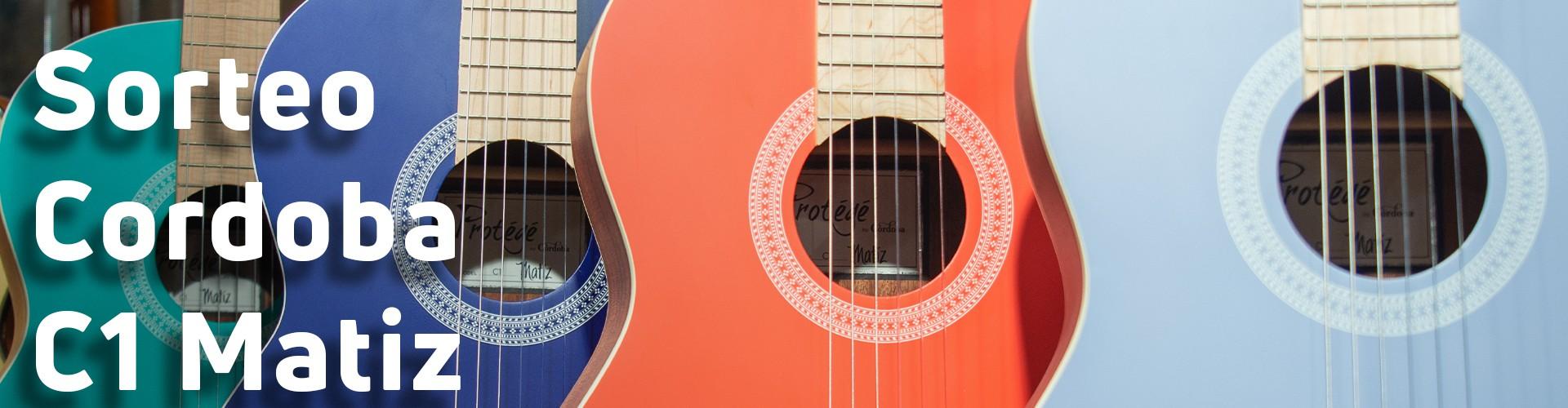 ¡Sorteamos una guitarra Cordoba C1 Matiz con el color que tú elijas!