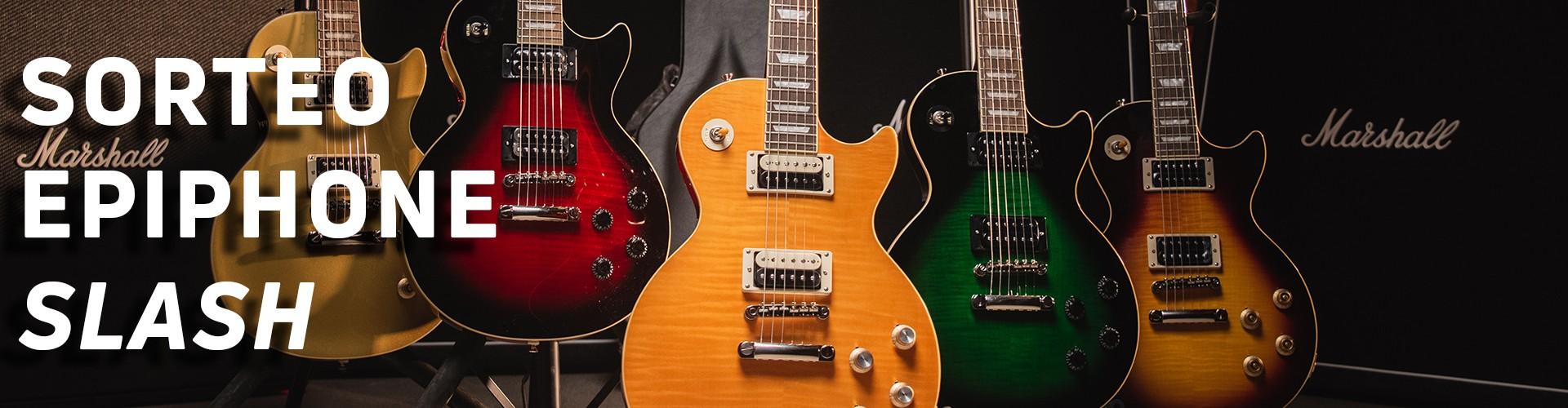 ¡Sorteamos una guitarra Epiphone Slash Les Paul Appetite Burst!