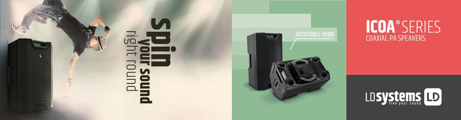 Cajas de directo LD Systems serie ICOA