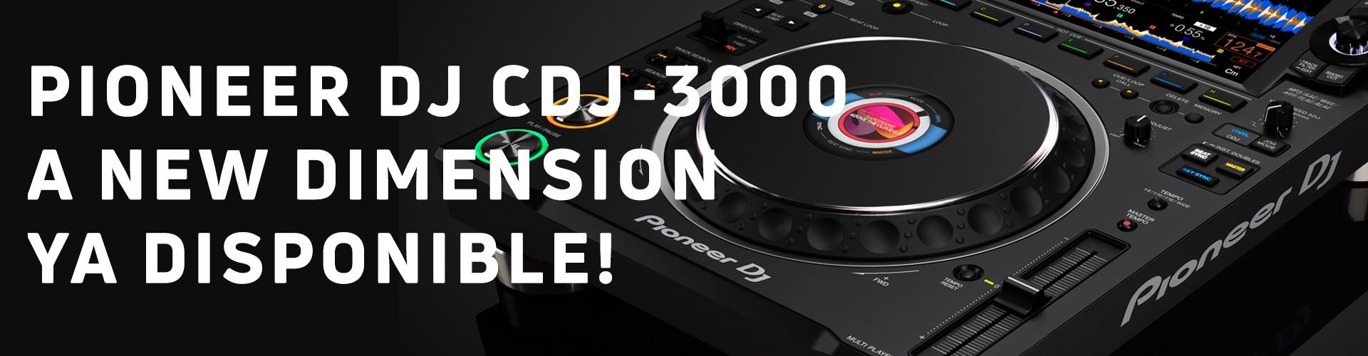 Pioneer DJ CDJ-3000 Ya disponible