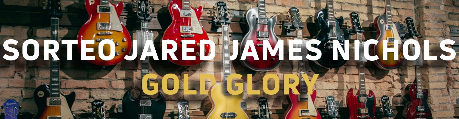 ¡Sorteamos una Epiphone Jared James Nichols Signature Gold Glory!