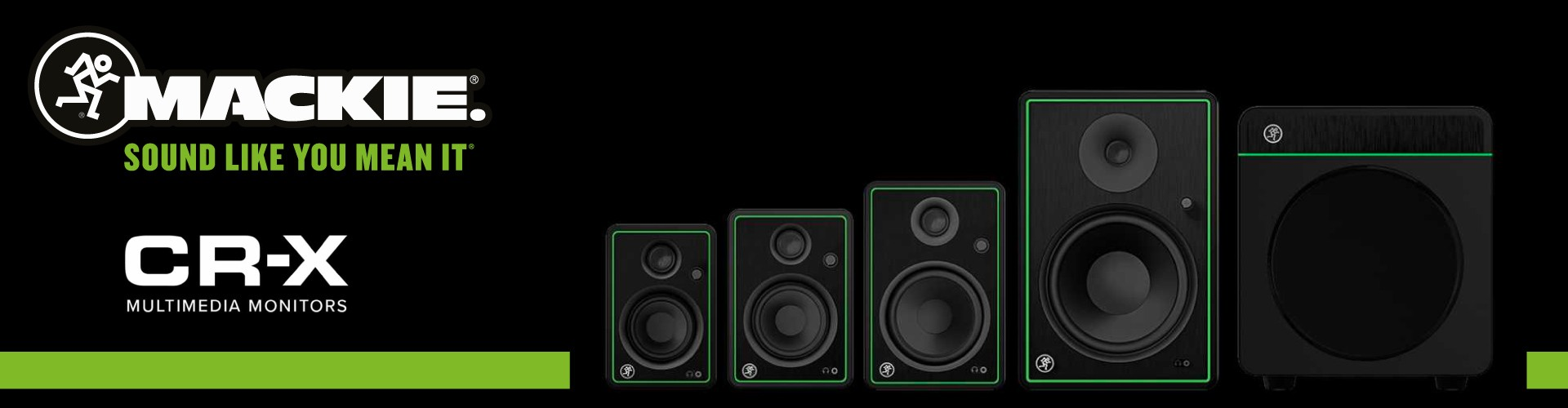 Monitores Multimedia Mackie CR-X