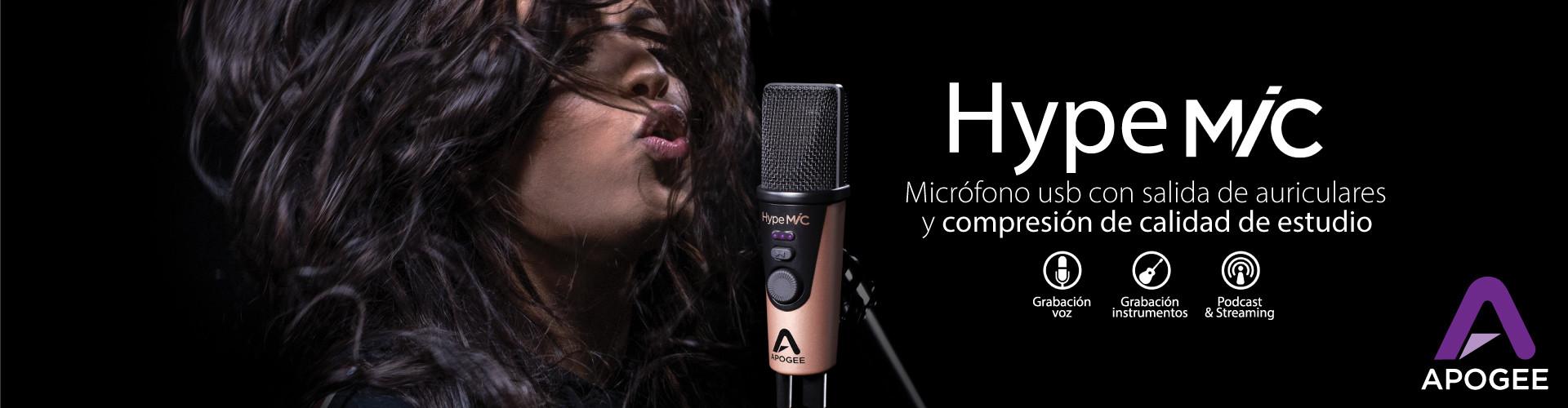 Micrófono usb Apogee Hype Mic