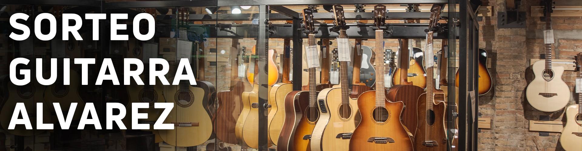 ¡Sorteamos una guitarra acústica Alvarez Artist Elite 95 Grand Auditorium!